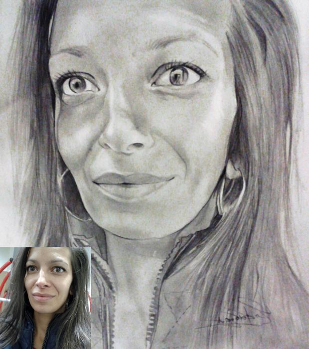 Portrait, III